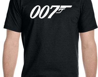 007 James Bond Logo T Shirt