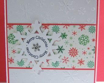 Snowflake-Merry Christmas