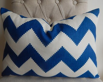 Portfolio chevron 14x20,12x20,throw pillow,accent pillow,decorative pillow,pillow cover,same fabric front  and back.