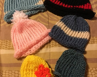 Family Fun Crochet Hat Pack