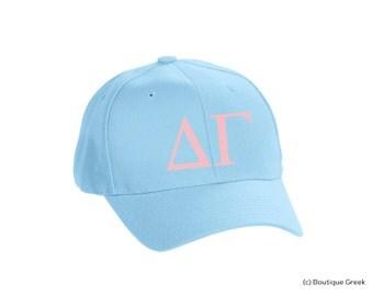 DG Delta Gamma Classic Letters Hat