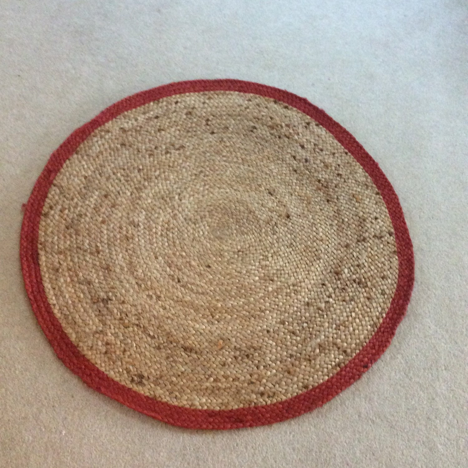 Teppich Jute Daya Rug Earthy Brown Boucle Design