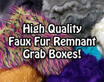 Faux Fur Assorted Remnants Box