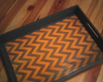 READY TO SHIP/Decorative Wooden Tray/Serving Tray/Tea Tray