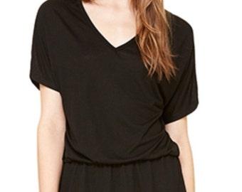Women's Monogrammed Tee Shirt Dress