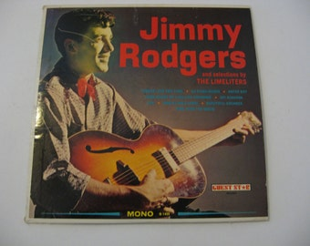 Jimmy Rodgers - Songs AMerica Sings - Circa 1950's