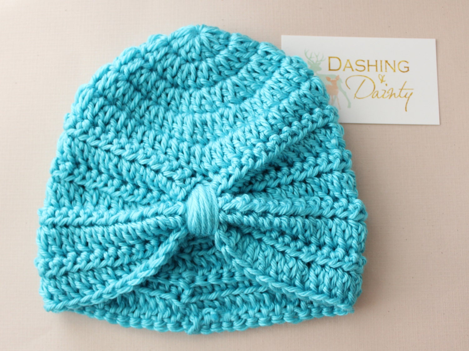 Free Crochet Pattern Baby Turban : Baby Turban Toddler Turban Adult Turban Crochet Hat Many