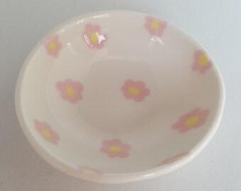 Small Pink Petal Bowl