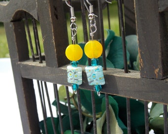 Forget-Me-Not Sunshine Earrings