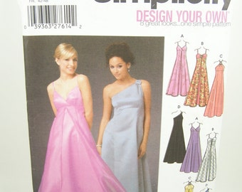 Prom Dress Evening Gown Pattern