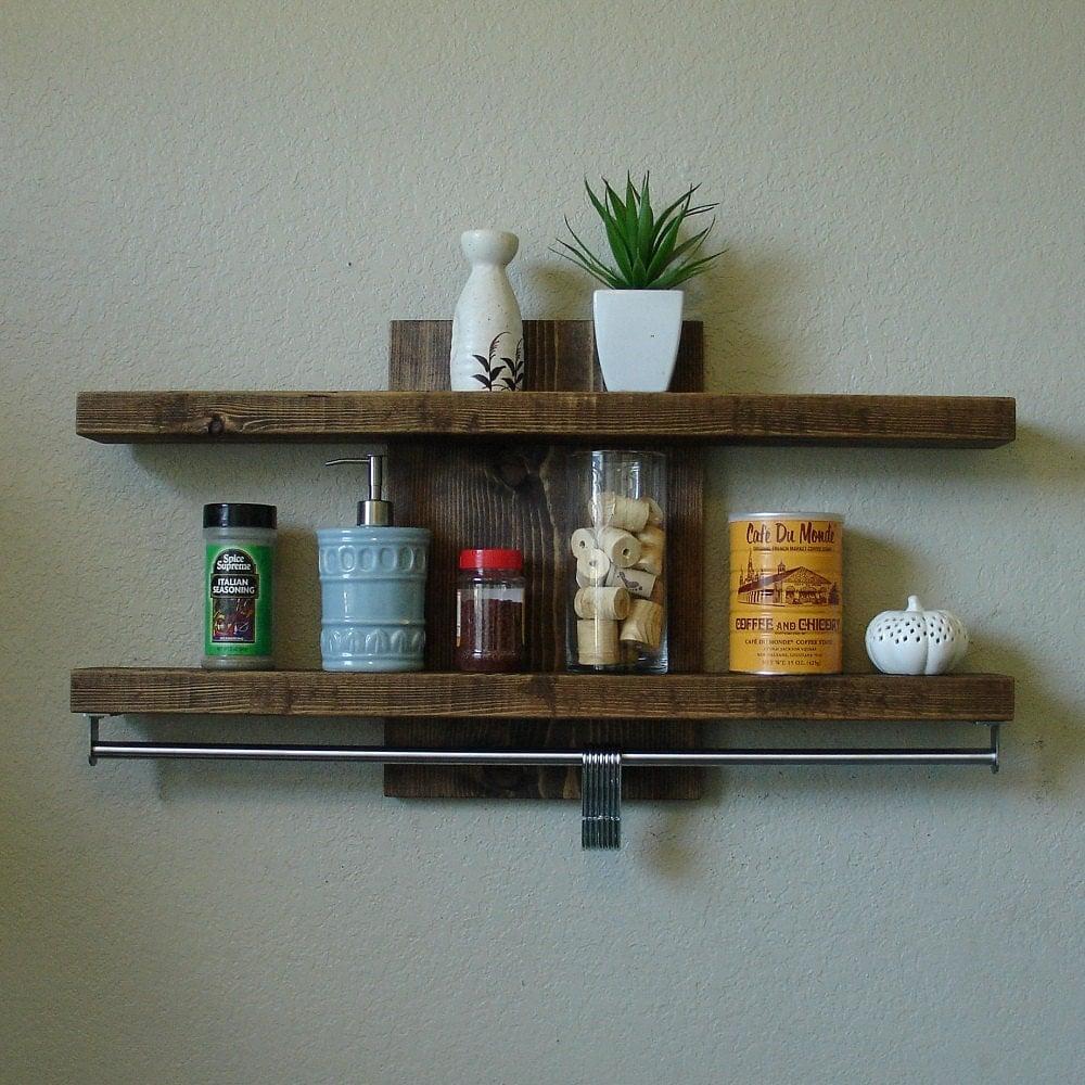 Black Bookshelf Pot Rack With Chrome Accents At Home Decor