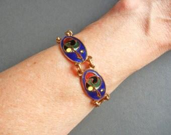 Vintage Tara Ware bracelet, Tara Ware style bracelet, Tara Ware Bracelet, Celtic bracelet, Tara Ware vintage bracelet, Tara Ware