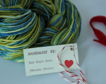 Dyed to order - Comeragh meadow - hand dyed yarn - 100% merino DK