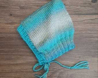 Blue Newborn Pixie Hat