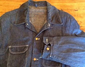 Wrangler Sanforized lined chore coat  size 52