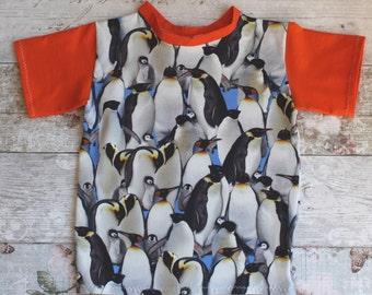 Peedie Boo 'Penguin' T shirt.