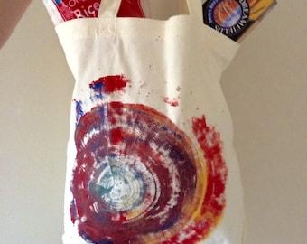 Vegan Purse Canvas Cotton Tote Bag