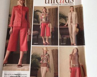 Simplicity 4275 Misses Jacket, Pants and Top, Size H5, Size 6 - 14, UNCUT