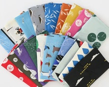 SALE // ORGANIC Maritime Fat Quarter Bundle- Charley Harper, Birch Fabrics, Certified Organic Cotton, Seventeen Prints