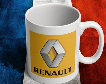 Renualt mug for french car fans
