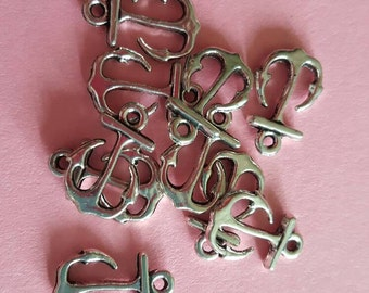 Small Anchor Charms