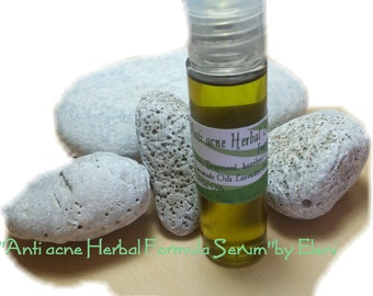 Anti acne Herbal Serum Formula by Eleni
