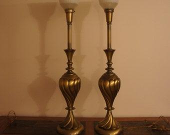 Vintage Stiffel Lamp Etsy