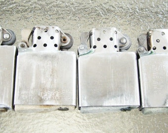 Lot of 4 Zippo Lighter Inserts - Lot 3