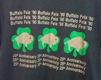Vintage Buffalo Irish Tshirt