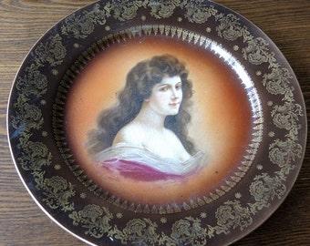 Royal Vienna Porcelain Portrait Plate