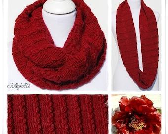 Knitting Pattern Cowl Kronos