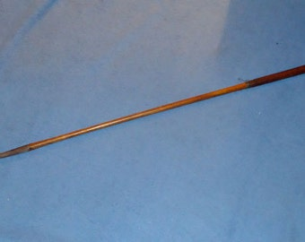 """Circa early 1900's Hickory Shaft Golf Club – Marked """"Harry Bowler mid iron"""""""