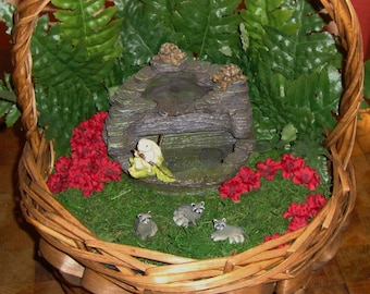 Miniature Garden Basket