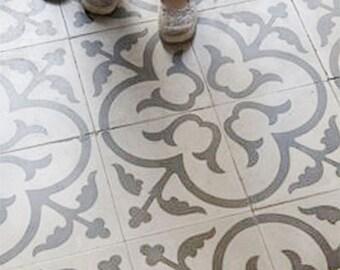 Scandi Tile Stencil, Floor Stencil, Moroccan Stencil For Table, Geometric  Stencil For DIY