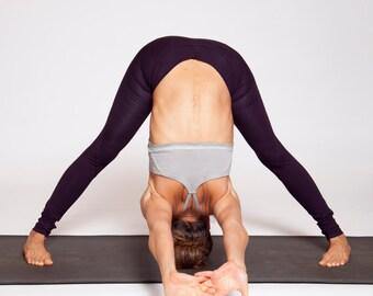 Cotton Stone Wash Criss Cross yoga bra