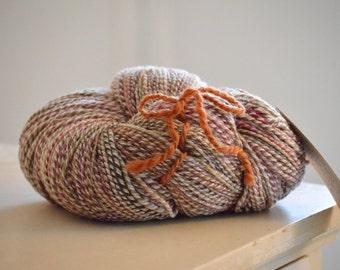 Yarn, handspun yarn, Aran weight yarn, homespun yarn, Minnesota handmade, knitting supplies, 100 percent three ply wool yarn, wool yarn