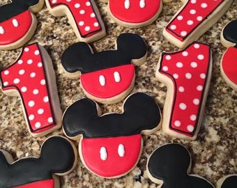Mouse sugar cookies