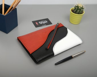 """Exclusive clutch made of genuine leather """"Dion"""""""