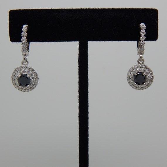Black Stone Earrings: Black Onyx Earrings Black Stone Earrings Black Silver