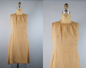 Lace Illusion Dress / 1950s Dress / 1960s Lace Dress