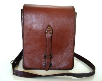 Military Leather Bag