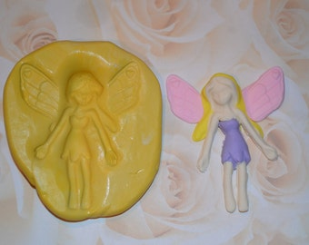Fairy Silicone Mold, Fairy Silicone Mould, fairy mold, fairy mould, fondant fairy