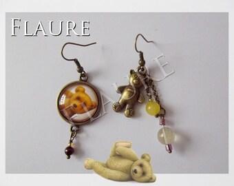"""earrings """"little bear"""""""