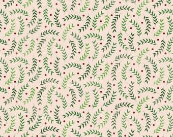 Christmas Green Leaves Photo Backdrop *NEW