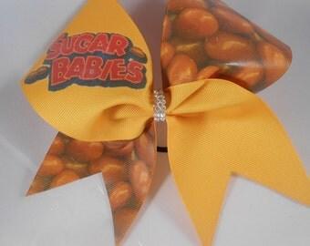 Sugar Babies Cheer Bow by BlingItOnCheerBowz