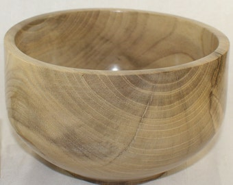"Reclaimed White Poplar Bowl, 3.25"" x 5.5"""