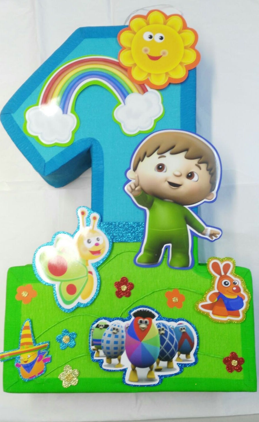 Violeta Glace Mesas Tematicas Baby Tv Birthday Decoration smartprosus