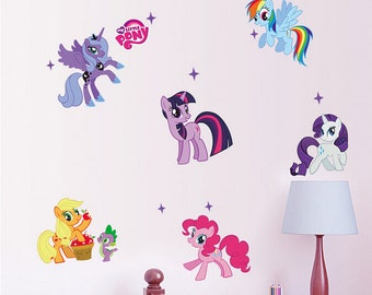 My Little Pony Wall Decals - AW1425