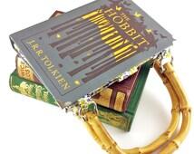 The Hobbit Handbag, J.R.R. Tolkien, Bilbo Baggins, Lord of the Rings purse, Classic novel handbag, Gift for a teacher, My Preciousss