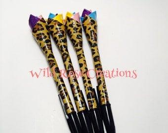 Duct Tape Pen- Cheetah Print